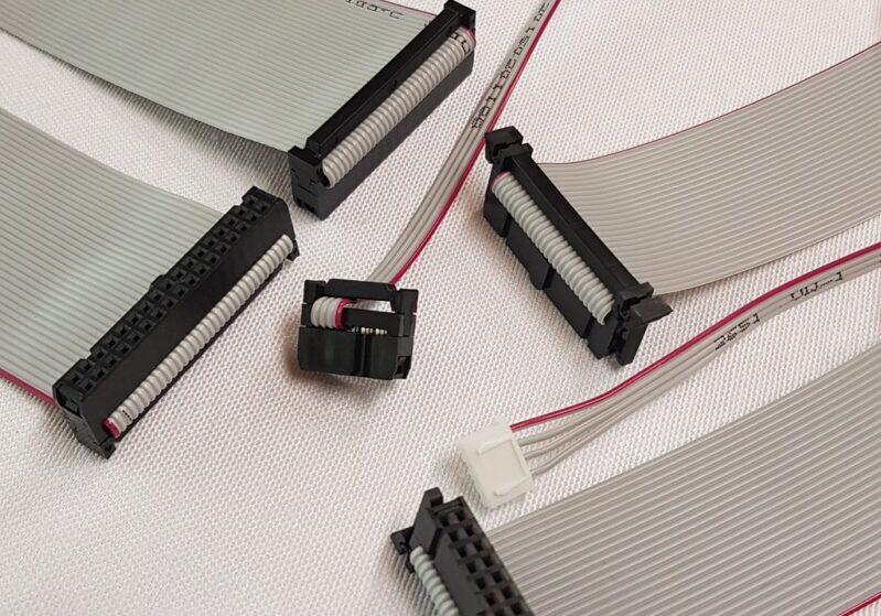 Flat kablo montajı ve IDC